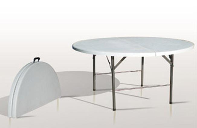 Diam tre 150 centim tre pliante par le milieu pour 8 a 10 - Diametre table ronde pour 10 personnes ...